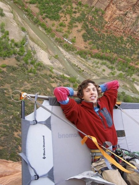 Rock Climbing Photo: Moonlight Buttress