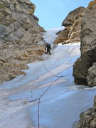 Rock Climbing Photo: Northwest Ice Couloir