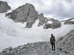 Rock Climbing Photo: Northwest Ice Couloir