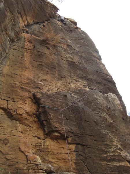 Rock Climbing Photo: 3 star climb at Waseya Cracks in Tigray, Ethiopia