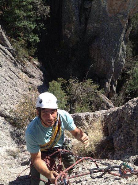 Rock Climbing Photo: bellavista from top