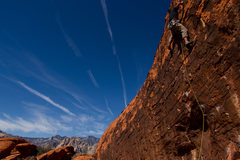 Rock Climbing Photo: Dustin on Range of Motion