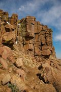 "Rock Climbing Photo: That's the whole of ""Lemons, Limes, and Tange..."