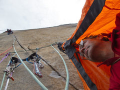 Rock Climbing Photo: The hanging gear sling.