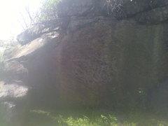 Rock Climbing Photo: Start in the bottom left