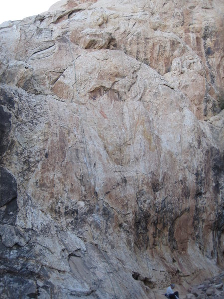 Rock Climbing Photo: L. Focus Pocus 5.10 R. Peenut Gallery 5.11