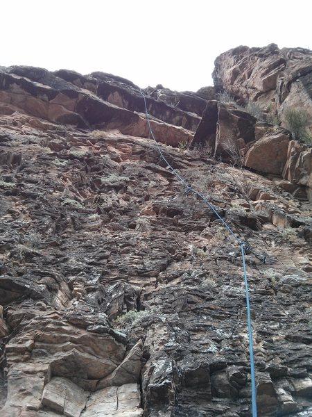 Rock Climbing Photo: Disturbed Susan.