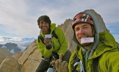 Rock Climbing Photo: the summit of Aguja Poincenot, Patagonia