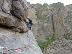 Rock Climbing Photo: scenic cruise, Black Canyon of the Gunnison