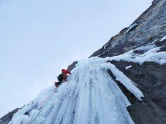 "Rock Climbing Photo: ""French Reality"", canadian rockies"