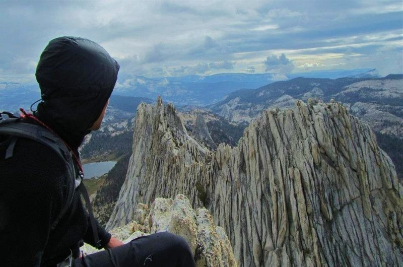 Rock Climbing Photo: mathis crest, tualomne meadows