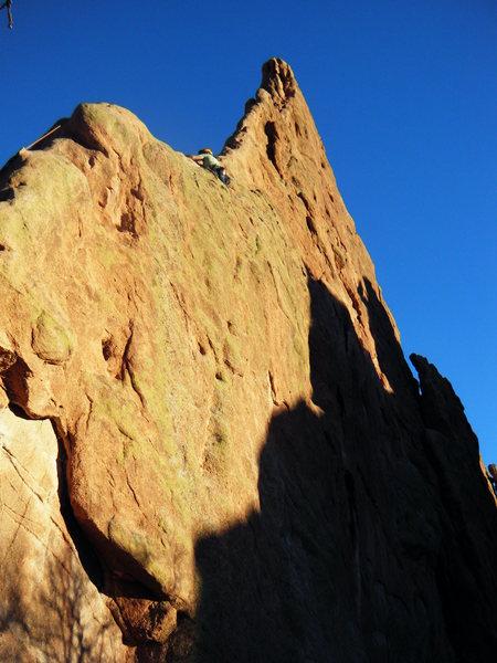 Montezuma Tower - North Ridge route