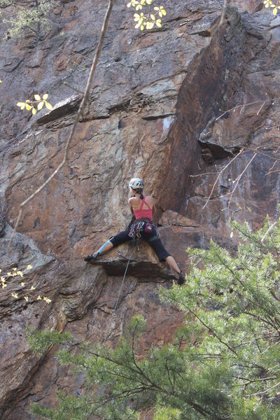 Rock Climbing Photo: Which way do I go??