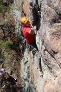 Rock Climbing Photo: Into the flake