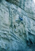 "Rock Climbing Photo: Gary, after the ""Big Moe."""