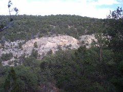 Rock Climbing Photo: Terrace-center, overview