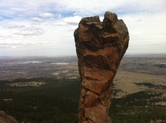 Rock Climbing Photo: The Maiden rears her head on a fine April afternoo...