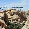 The view from Midnight Dreamer, Joshua Tree NP