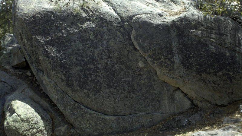 "Rock Climbing Photo: ""Look At This"" at Groom Creek boulders. ..."