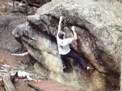 Rock Climbing Photo: Greg Parker from a video shot getting the send