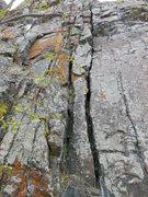 Rock Climbing Photo: Never Again