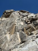 Rock Climbing Photo: There's the pine tree in the upper right!  Get to ...