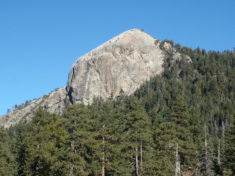 Rock Climbing Photo: Big Baldy from the south