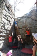 Rock Climbing Photo: Spanky and Latin for Daggers