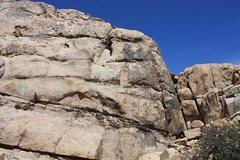 Rock Climbing Photo: The right side of Big Hunk's SW Face, Joshua Tree ...