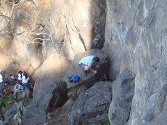 Rock Climbing Photo: Approach to climbing at Lake Amatitlán, Guatemala...