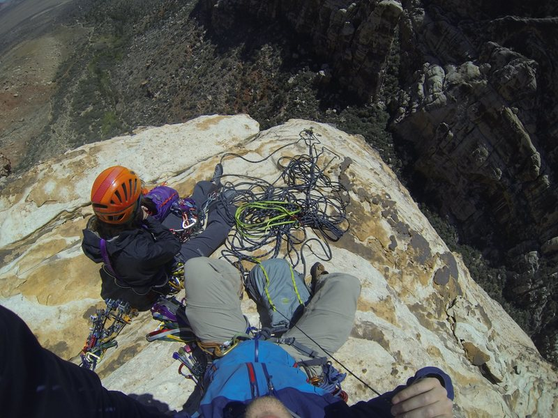 Rock Climbing Photo: View from the top!