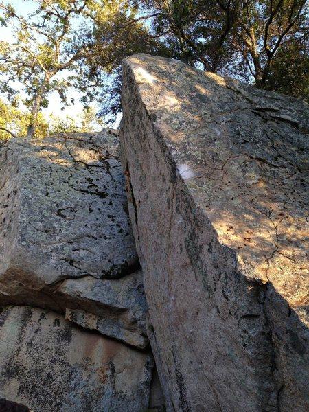 Rock Climbing Photo: LAR's Arete - V5R