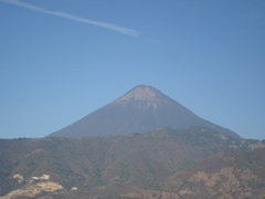 Rock Climbing Photo: View of Volcán de Pacaya from the upper crag.