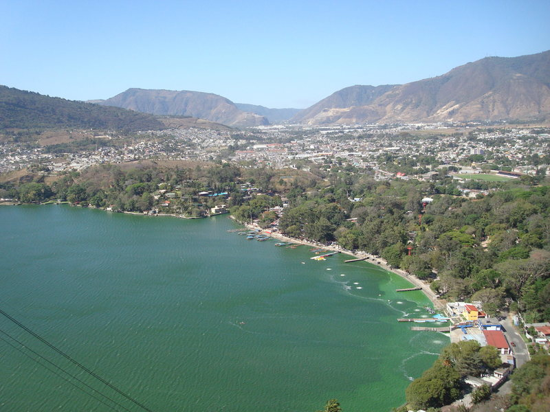 Lake Amatitlán, from Sector 5.