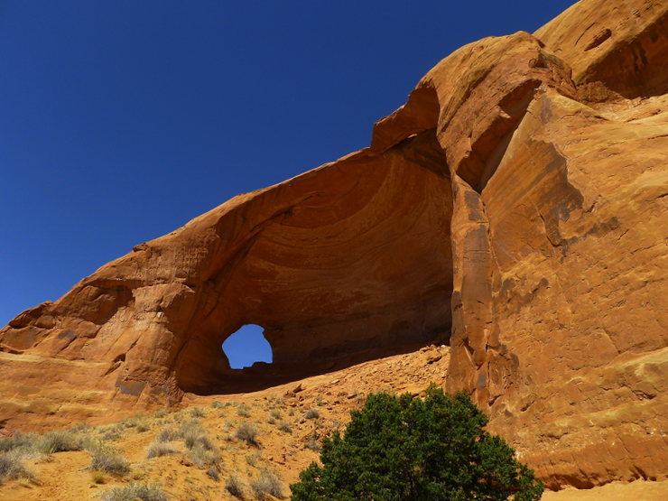 another view of the arch/amphitheater