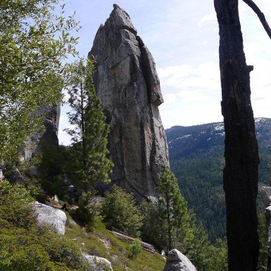 Rock Climbing Photo: Lower Spire
