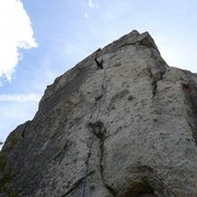 Rock Climbing Photo: Mike Arechiga on,Five Tendons.5.10d