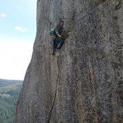 Rock Climbing Photo: Mike Arechiga on,K.E.Cracks.5.11a/b