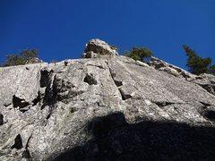 Rock Climbing Photo: The Warm Up wall 5.7