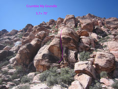 Rock Climbing Photo: Crumble My Grundle!