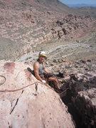 Rock Climbing Photo: Jack at the belay