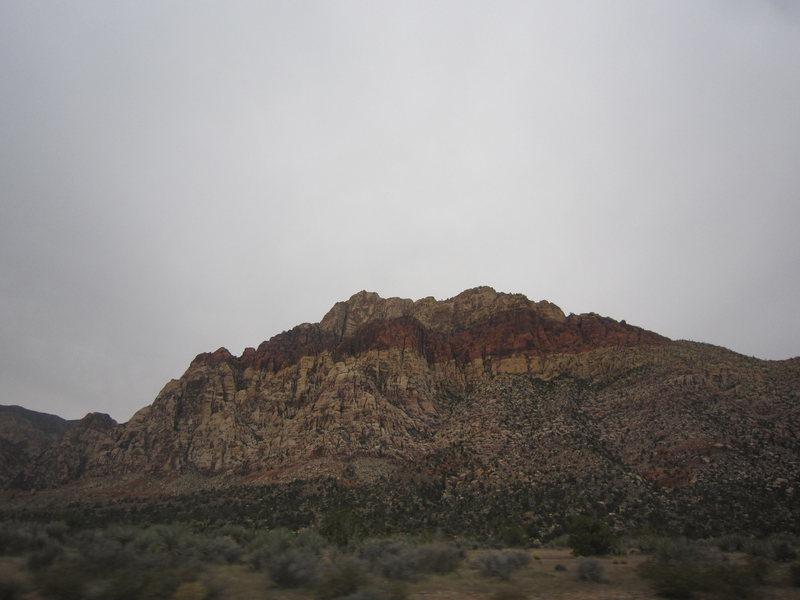 Rock Climbing Photo: east side of Bridge Mtn.