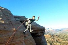 Rock Climbing Photo: Beer in hand