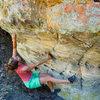 Korrie climbing