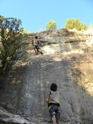 Rock Climbing Photo: Me on this little warm-up