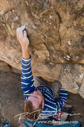 Rock Climbing Photo: Tyler Starbard on the FA