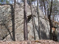 Rock Climbing Photo: I hiked in and took some pictures today. Looks lik...