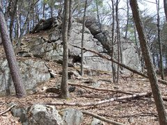 Rock Climbing Photo: One of the smaller crags.