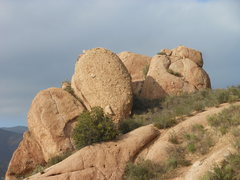 Rock Climbing Photo: The Diner from the saddle between the Tower of Bab...