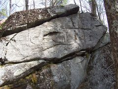 Rock Climbing Photo: Boulder problem